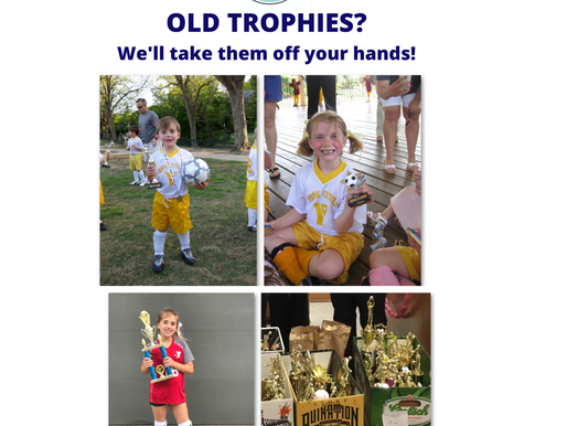 Old Trophies? Donate Them! - Dallas