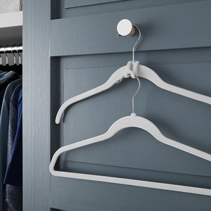 10 Things to Buy from The Container Store for a More Organized Home   Getting it Done Organizing   velvet hangers