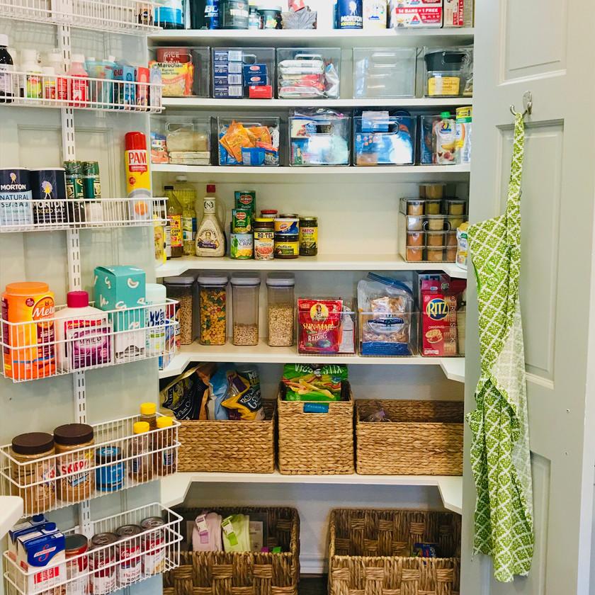 Organization Transformation, Kitchen Pantry After