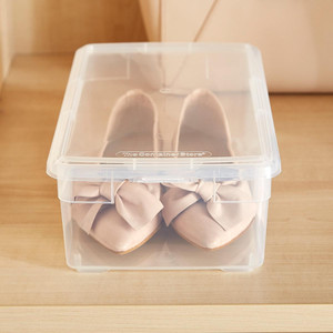 10 Things to Buy from The Container Store for a More Organized Home   Getting it Done Organizing   shoe box