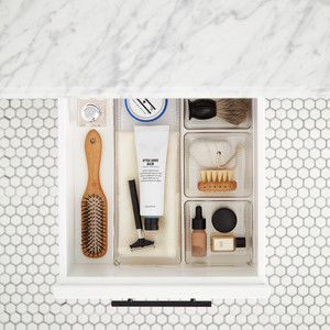 10 Things to Buy from The Container Store for a More Organized Home   Getting it Done Organizing   sectioned trays for drawer organization