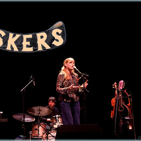 The Buskers in concert