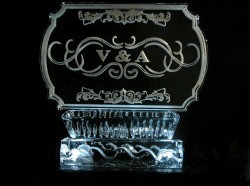 Ice sculptures are so classy.