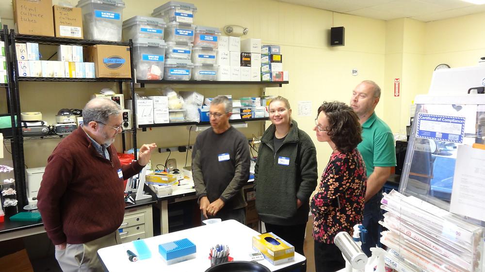 Larry Melnick | DNA Forensics Class