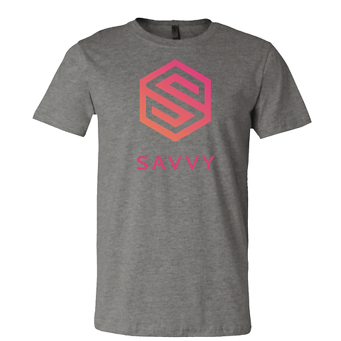 Gray Savvy T-Shirt