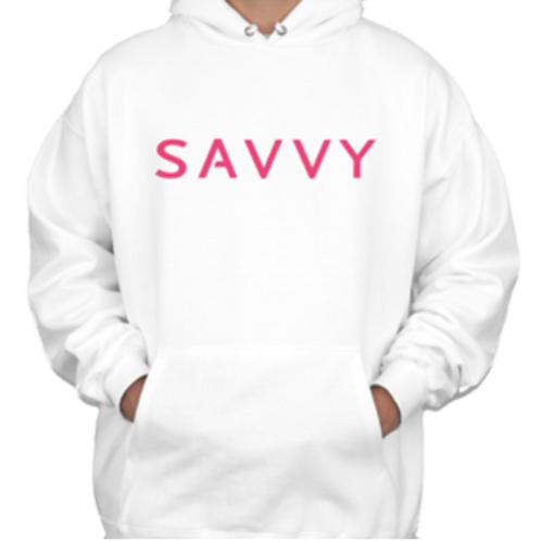 Ultra White Savvy Hoodie