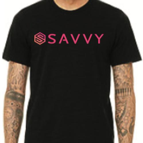 Black Savvy T-Shirt