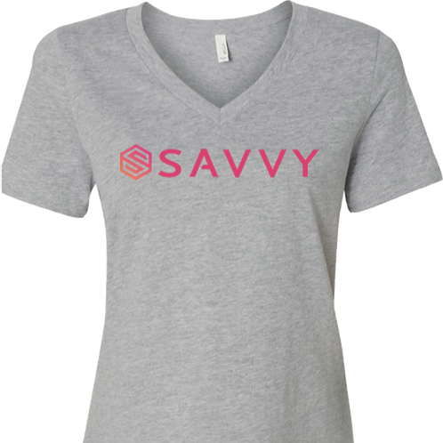 Women's Gray Savvy T-Shirt