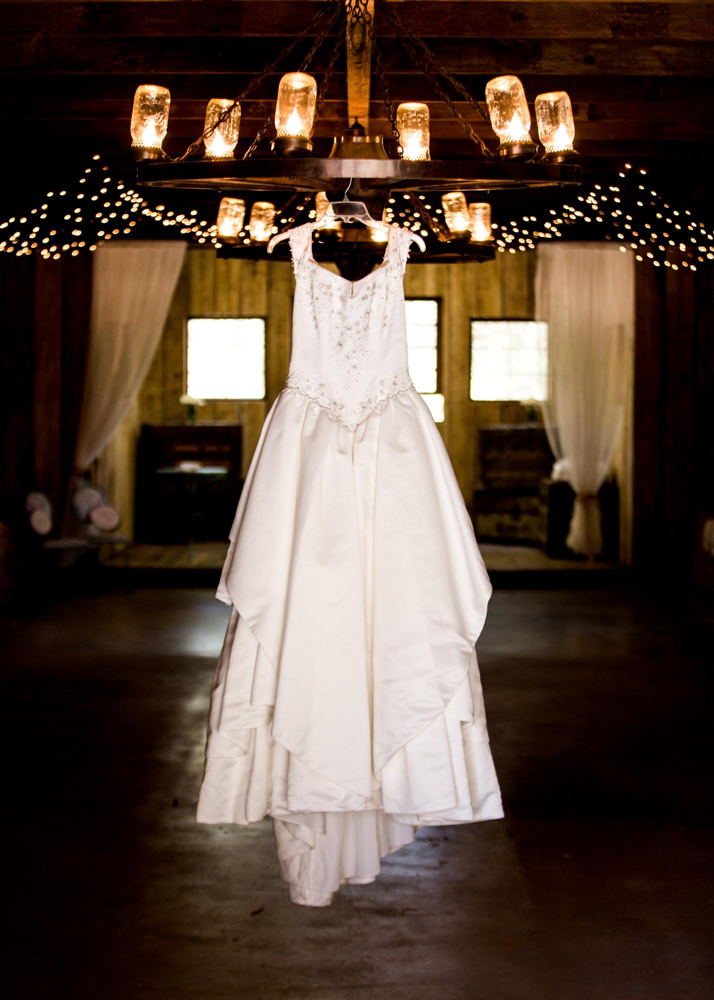 dress detail shot