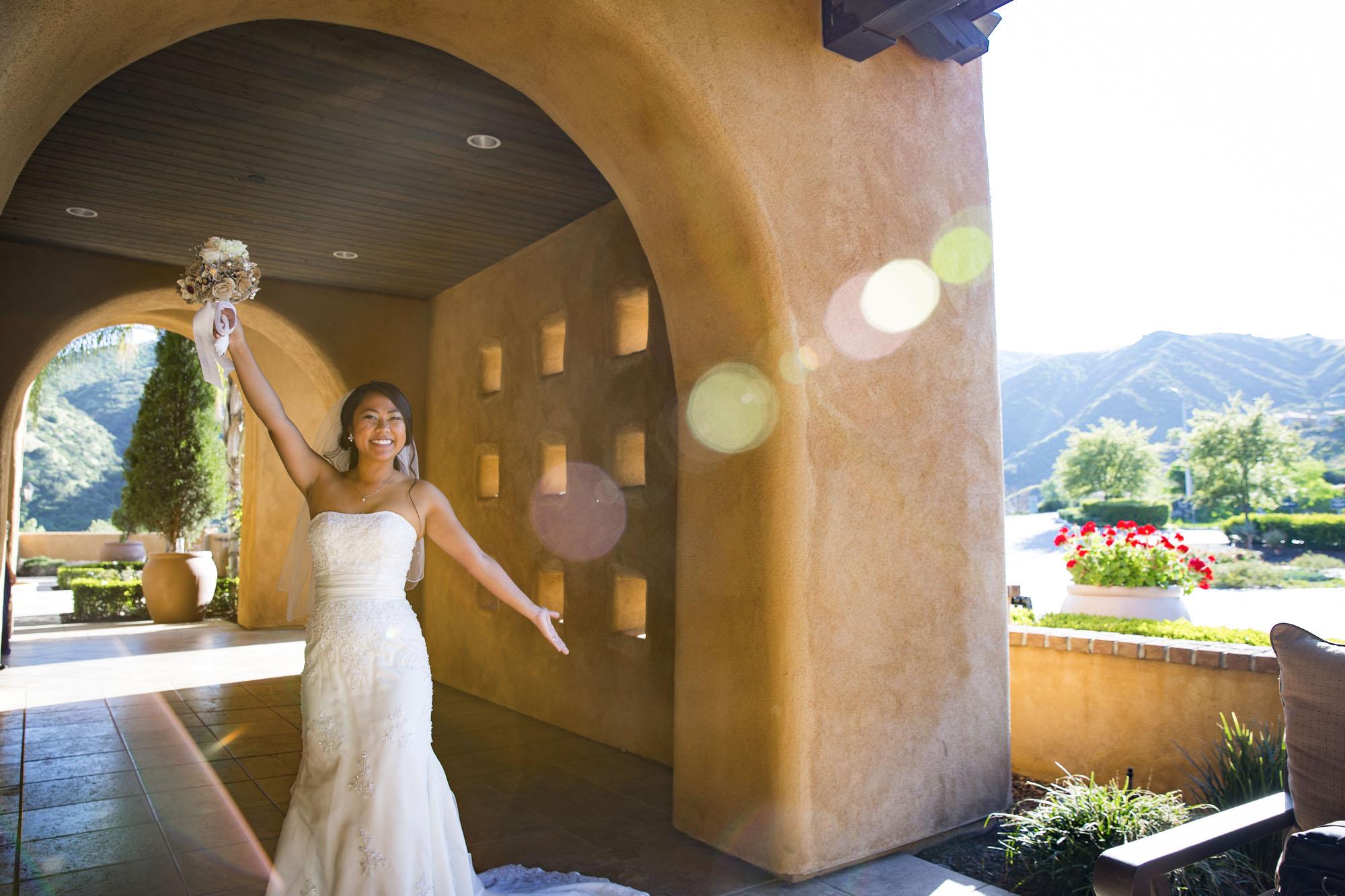 Bride | fun portrait
