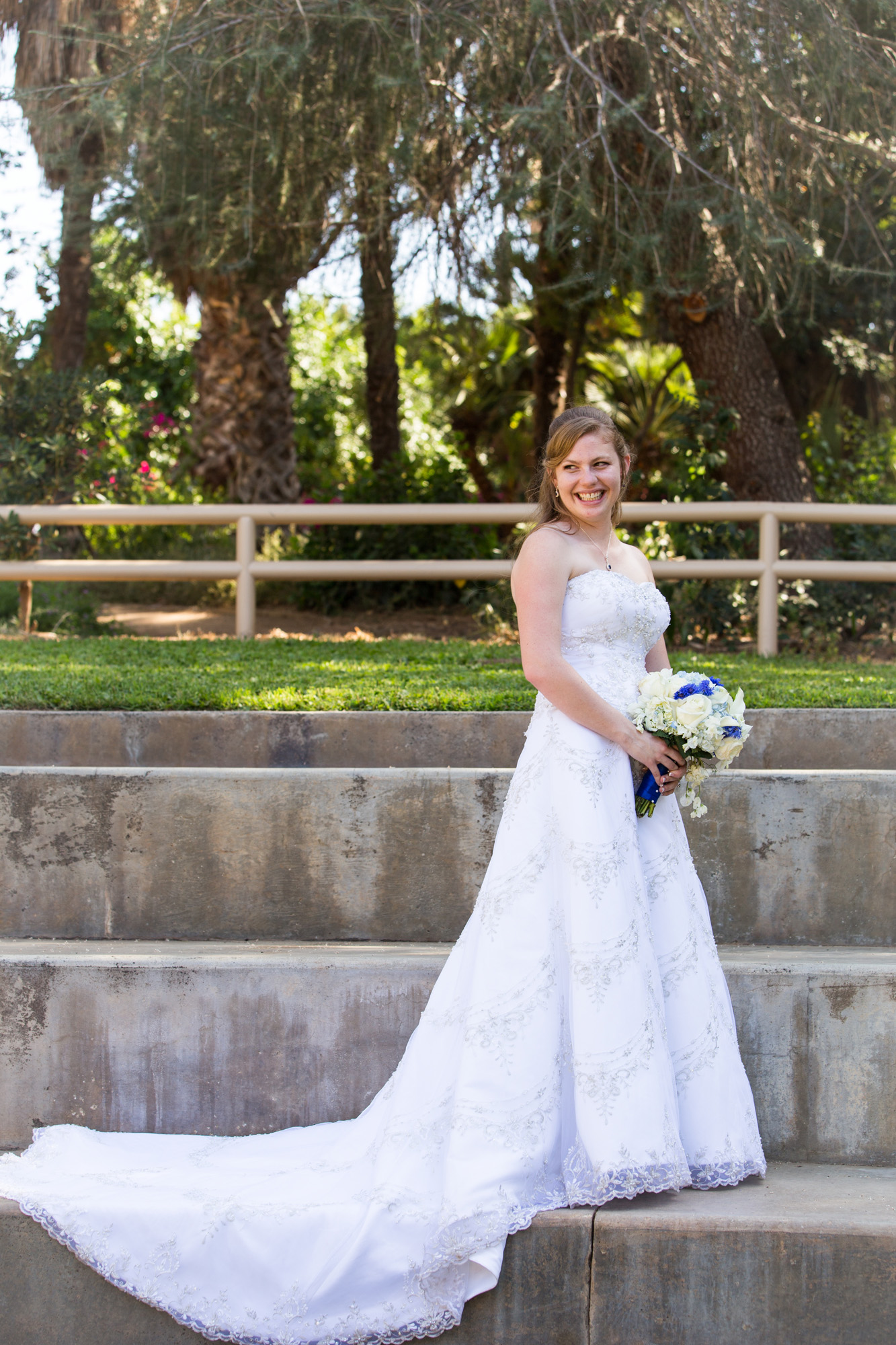 classic wedding dress bride portrait