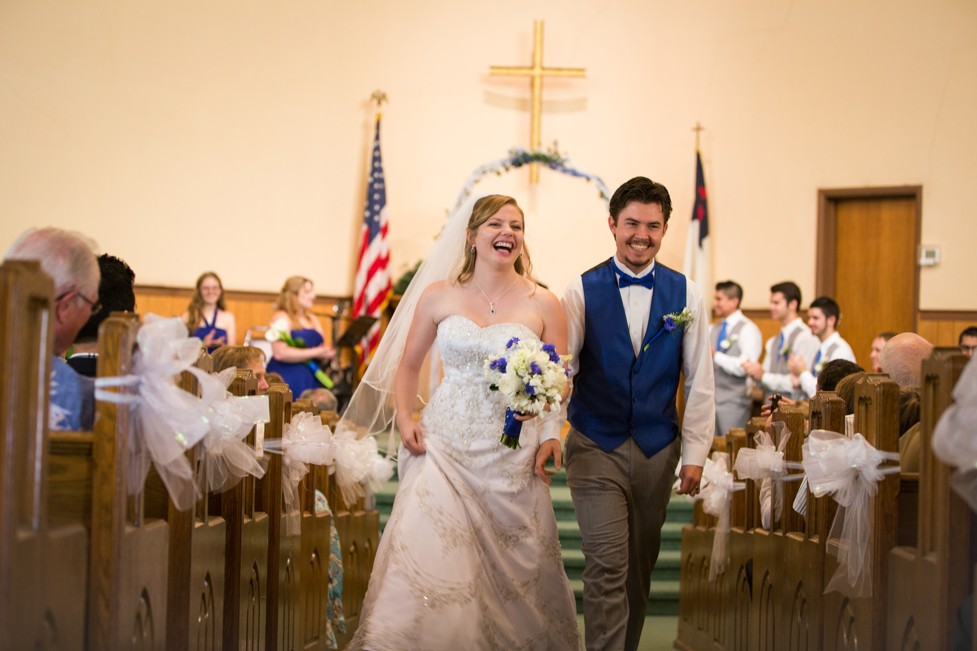 pronounced newlyweds