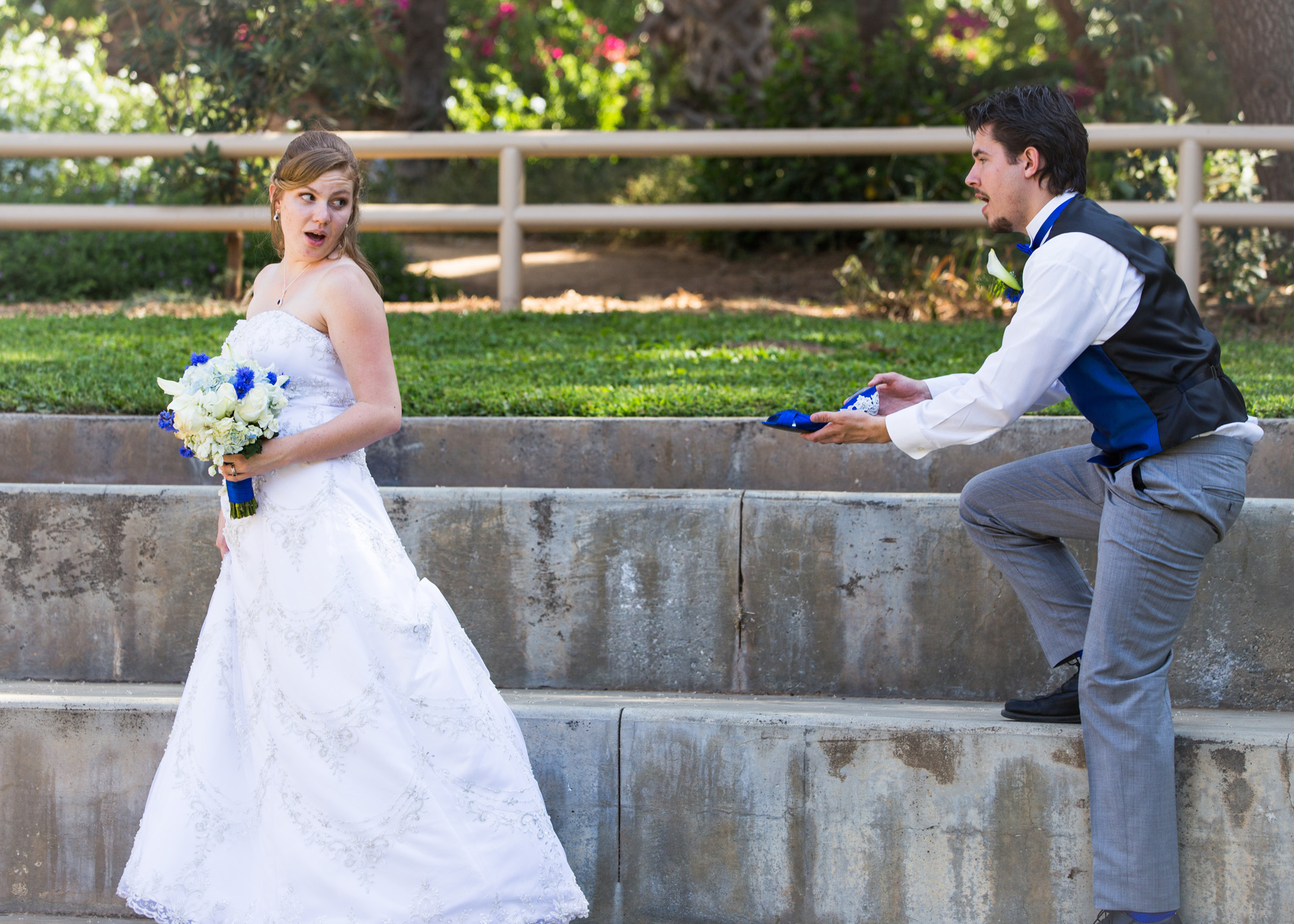 cinderella wedding photo