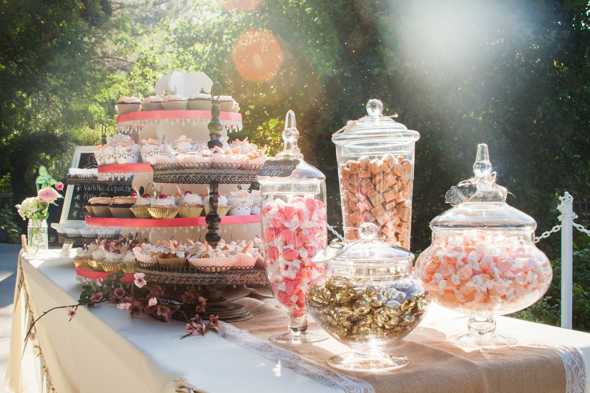 dessert table - southern outdoor