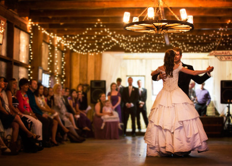 Romantic Barn First Dance