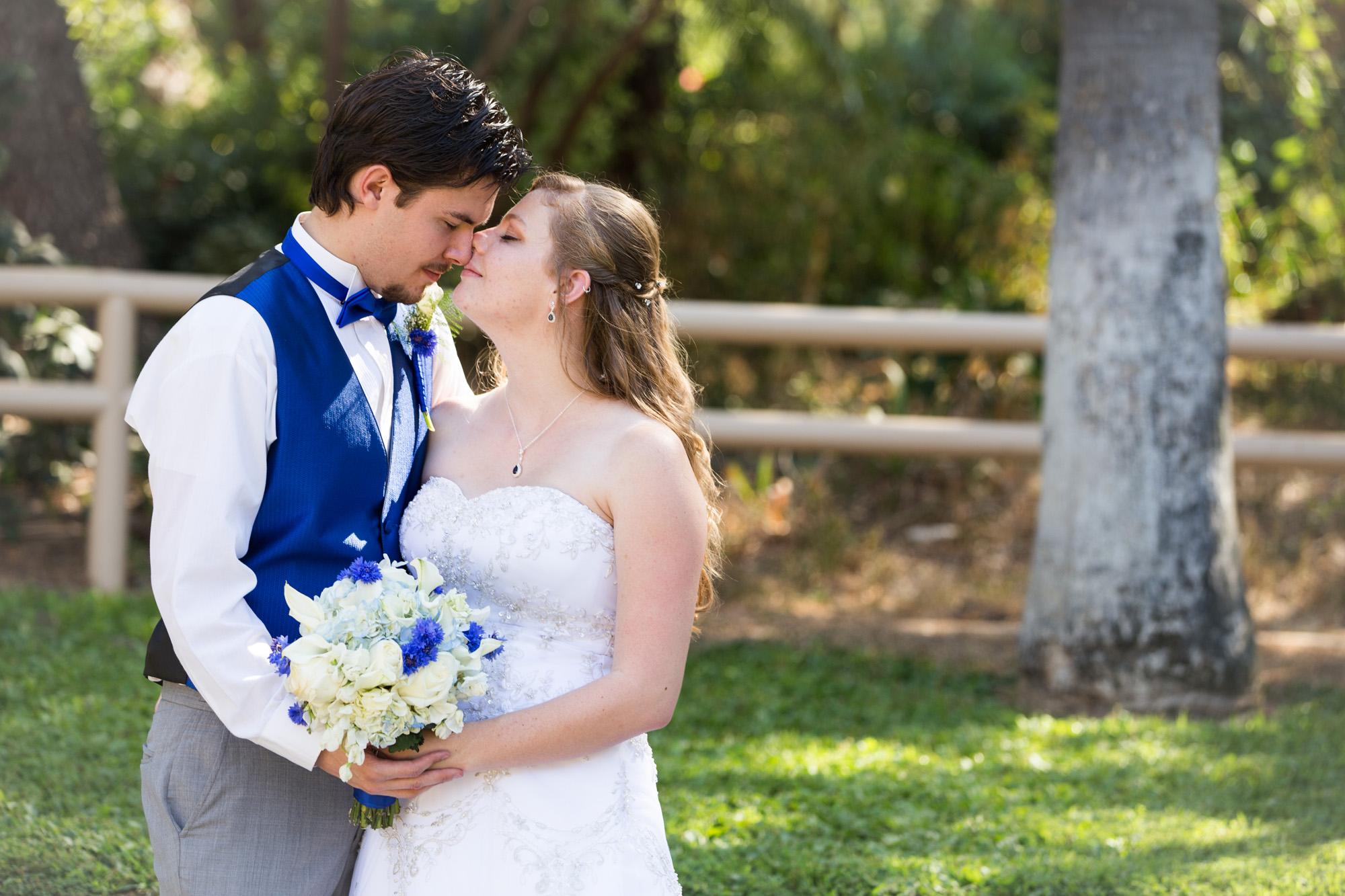 wedding portrait romantic