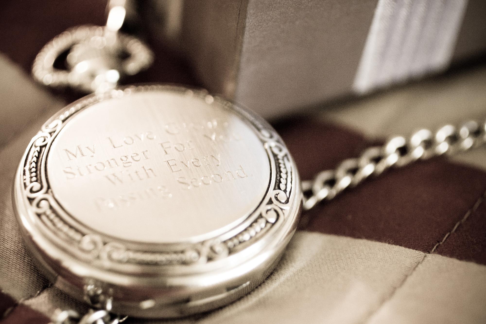 pocket watch wedding gift