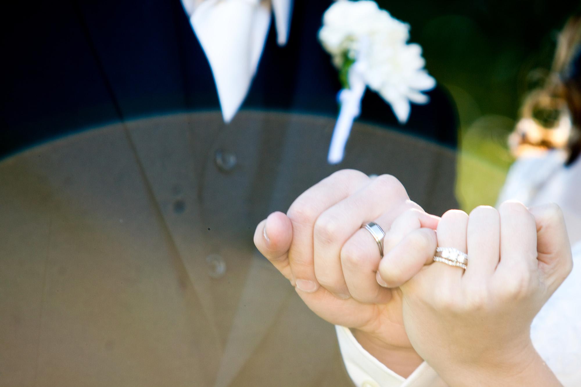 pinky promise wedding rings