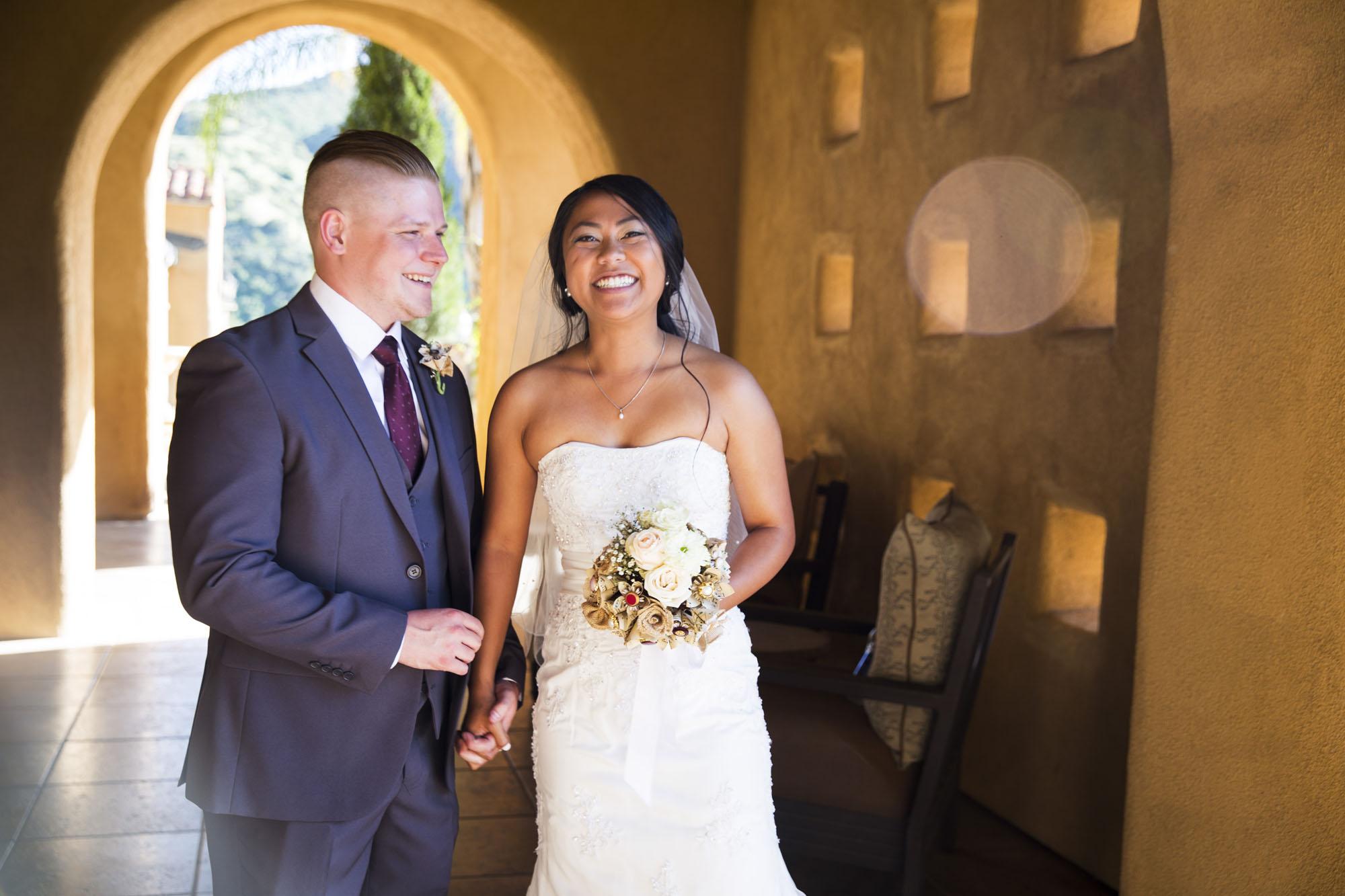 Joy of a wedding day