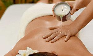 """Bon cadeau """"Massage à la bougie"""""""