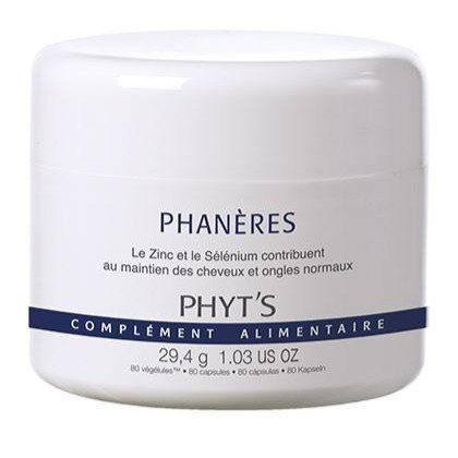 Phanères (cheveux et ongles)