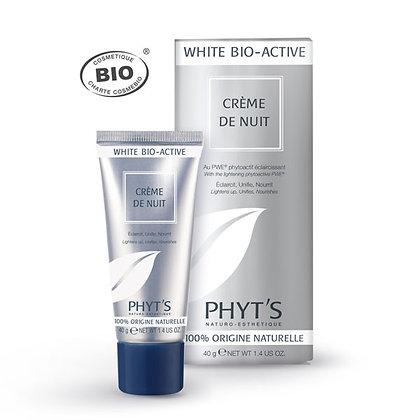 Crème de nuit Eclaircissante White Bio-Active