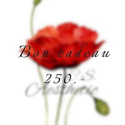 Bon cadeau 250.-