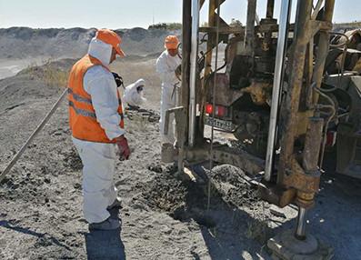 На опасном объекте «Белое море» в Волгограде проводятся инженерные изыскания