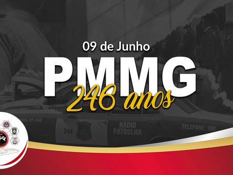 PMMG - 246 ANOS