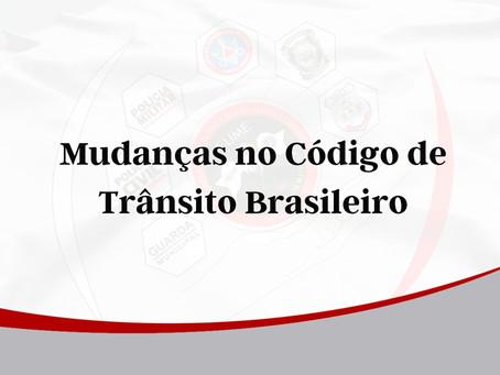 Mudanças no Código de Trânsito Brasileiro