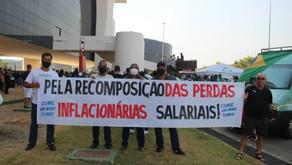 A CUME presente na Audiência Pública pela recomposição salarial