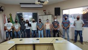 Diretoria da CUME Regional Sete Lagoas se reúne na Câmara Municipal de Inhaúma