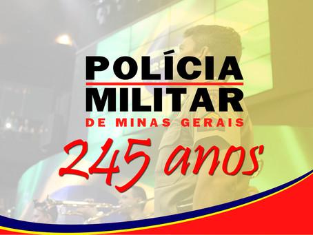 Policia Militar de Minas Gerais, 245 anos