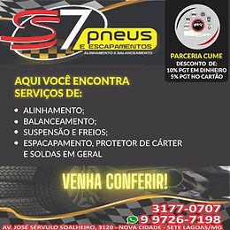 S7 Pneus - Regional Sete Lagoas