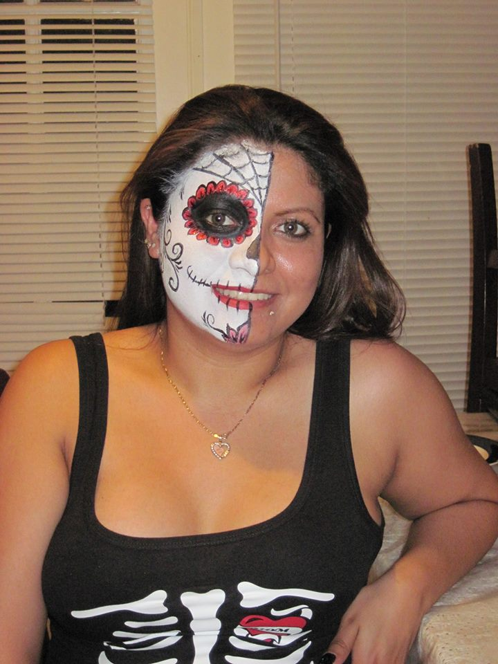 Half Sugar Skull