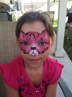 Beautiful pink kitty