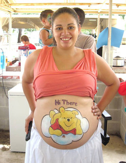Belly Painting!