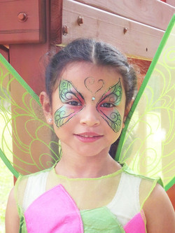 Another beautiful butterfly girl