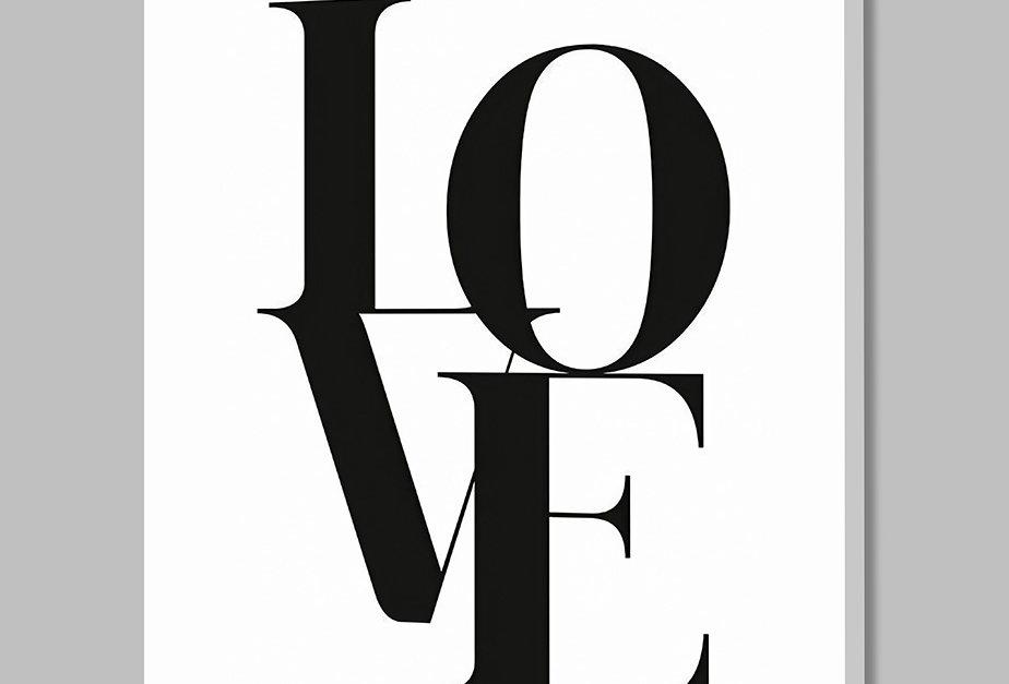 Placa Decorativa Personalizada Love I
