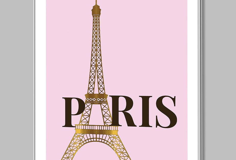 Placa Decorativa Personalizada Parisa