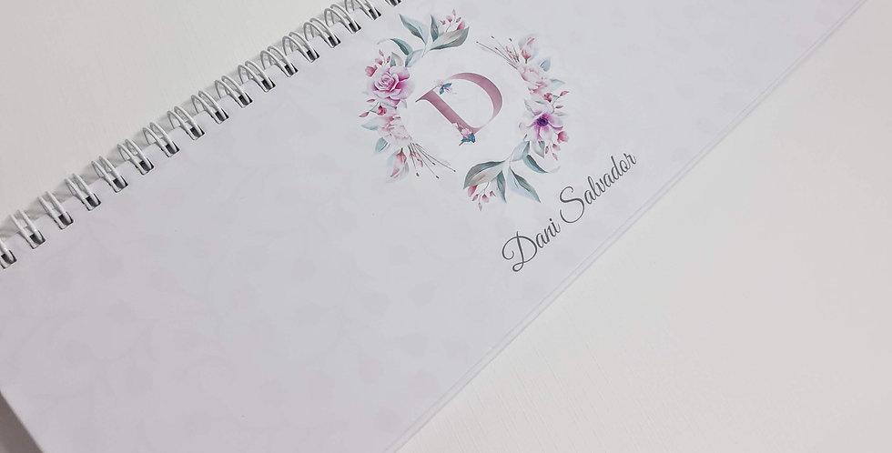 Notepad Semanal Personalizado - Capa Dura