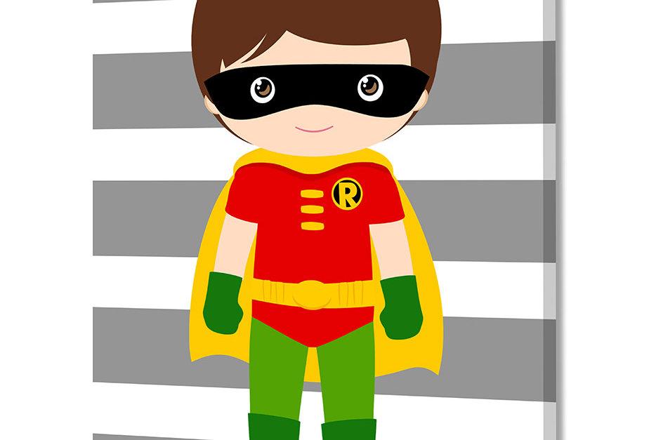 Placa Decorativa Personalizada Superhero IIIII