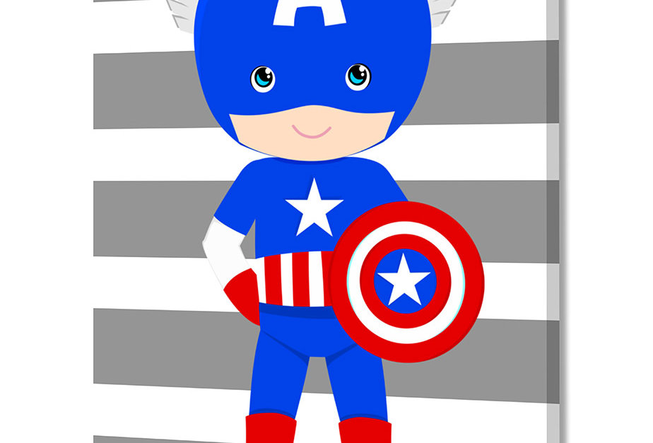 Placa Decorativa Personalizada Superhero II