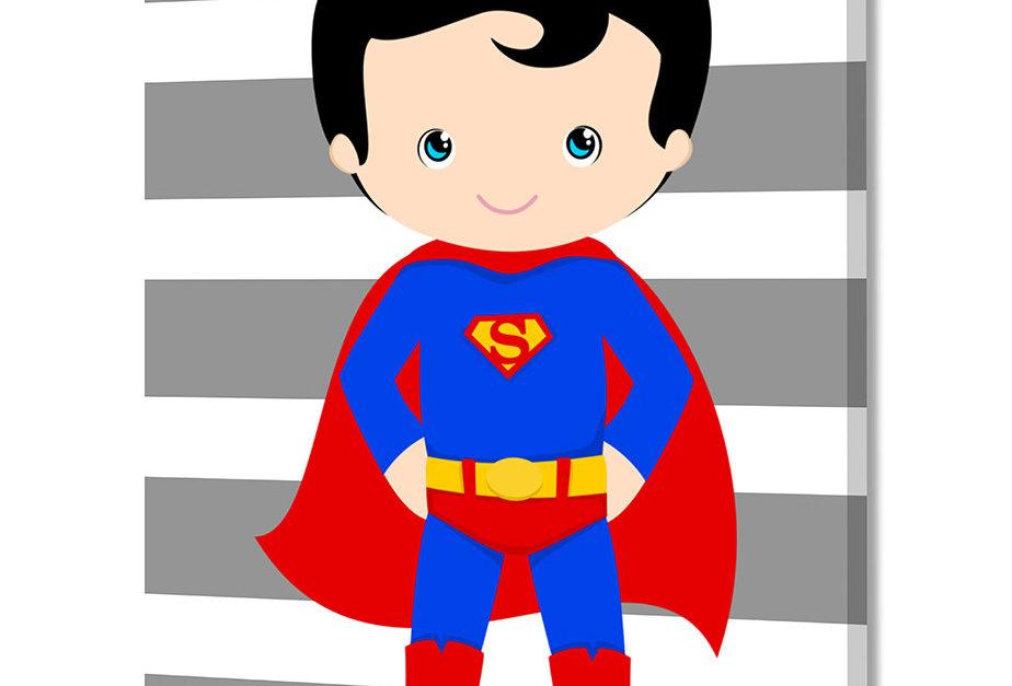 Placa Decorativa Personalizada Superhero IIII