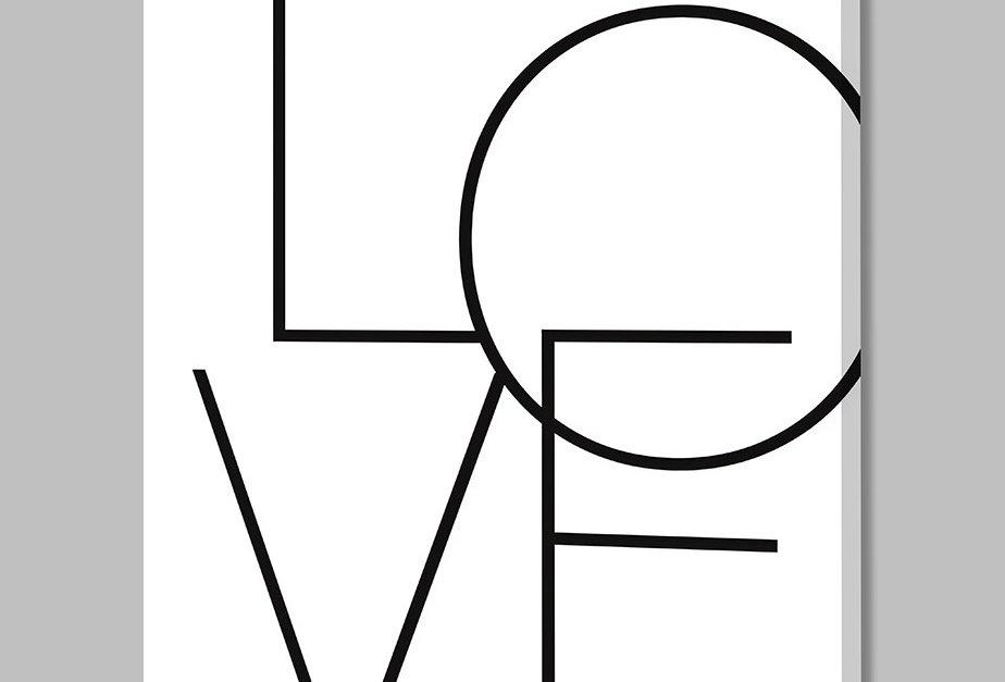 Placa Decorativa Personalizada Love II