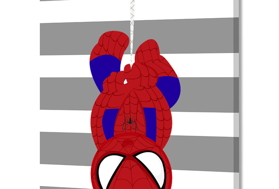 Placa Decorativa Personalizada Superhero I