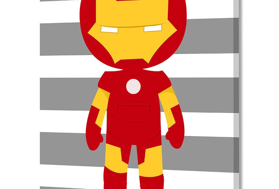 Placa Decorativa Personalizada Superhero III