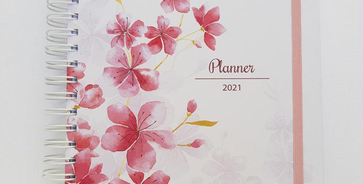 Planner Amelie - c/extra de Estudos - Pautado - Capa Dura