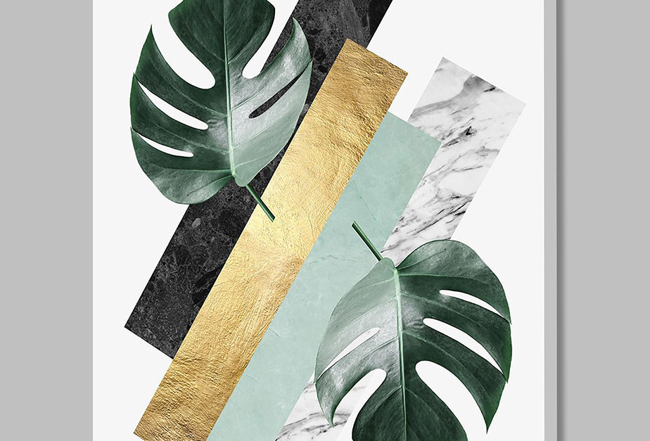 Placa Decorativa Personalizada Loose Leaves