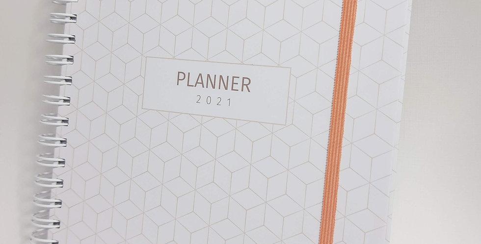 Planner Clara - Pautado - Capa Dura